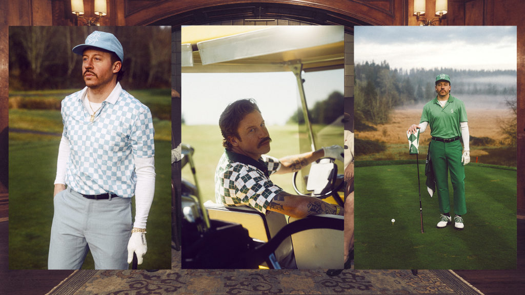 Bogey Boys: la marca de golfwear de Macklemore - Bogey Boys Tiger Woods vaccine Tom Holland lakers champions Chelsea portada