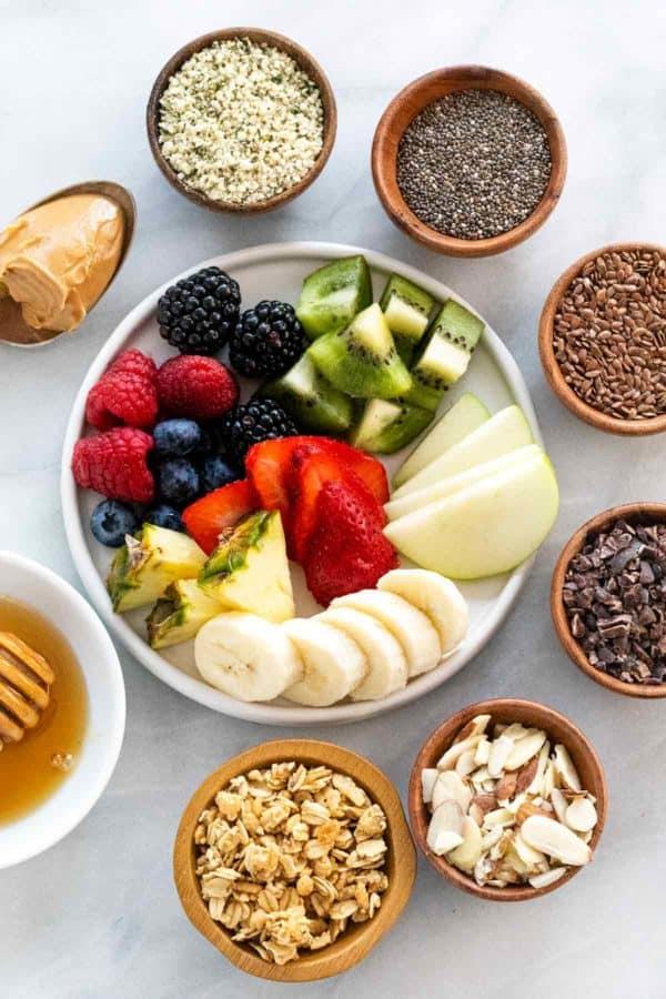 Para todos los healthy foodies: 4 ideas para preparar el desayuno perfecto - toppings-ideas-healthy-foodies-4-ideas-para-complementar-el-desayuno-perfecto-keto-vegano-adelgazar-gluten-free-healthy-slim