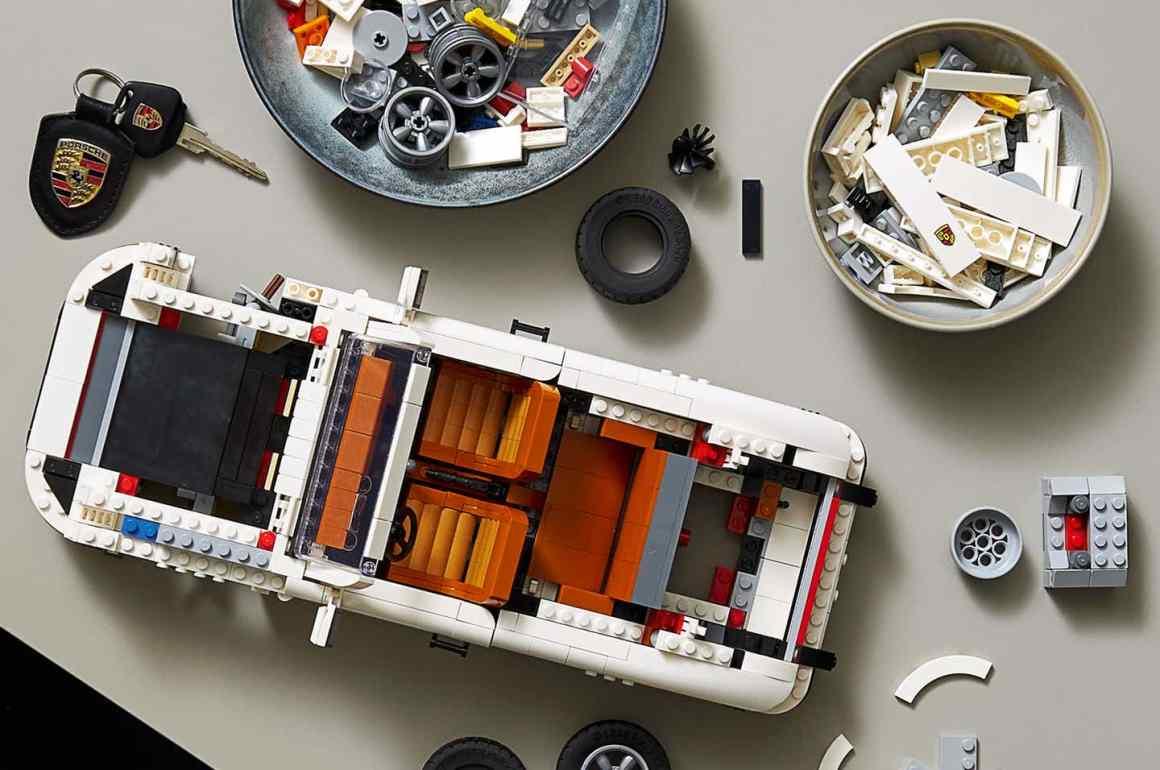 El icónico 911 de Porsche, ahora en versión armable de LEGO - El icónico 911 de Porsche ahora en versión armable de LEGO europa league Barcelona champions GME Lakers JP Morgan portada