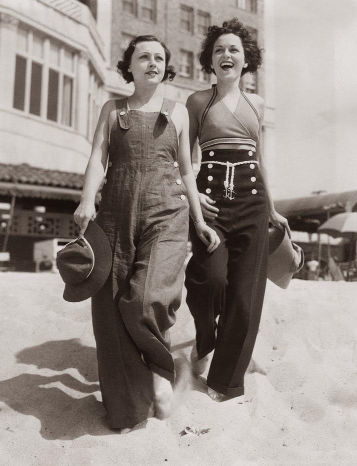 Evolución de la moda a través de los años - mod1930