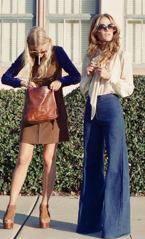 Evolución de la moda a través de los años - moda1970