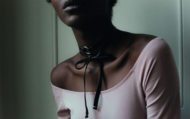 Libélula por Sofía, joyería con significado - libelula-perlas-collar-choker-liston