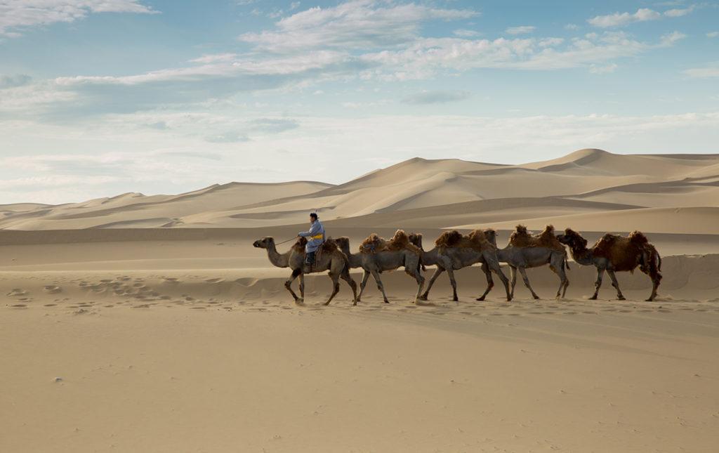 Mongolia, el lugar con un cielo eternamente azul