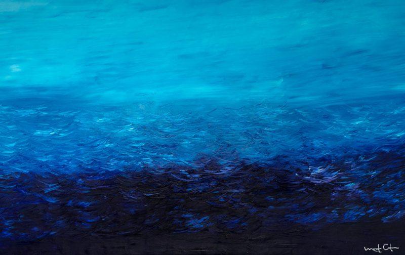 Marcela Cadena y su pasión por el azul - azul-profundo-cuadro-marcela-cadena