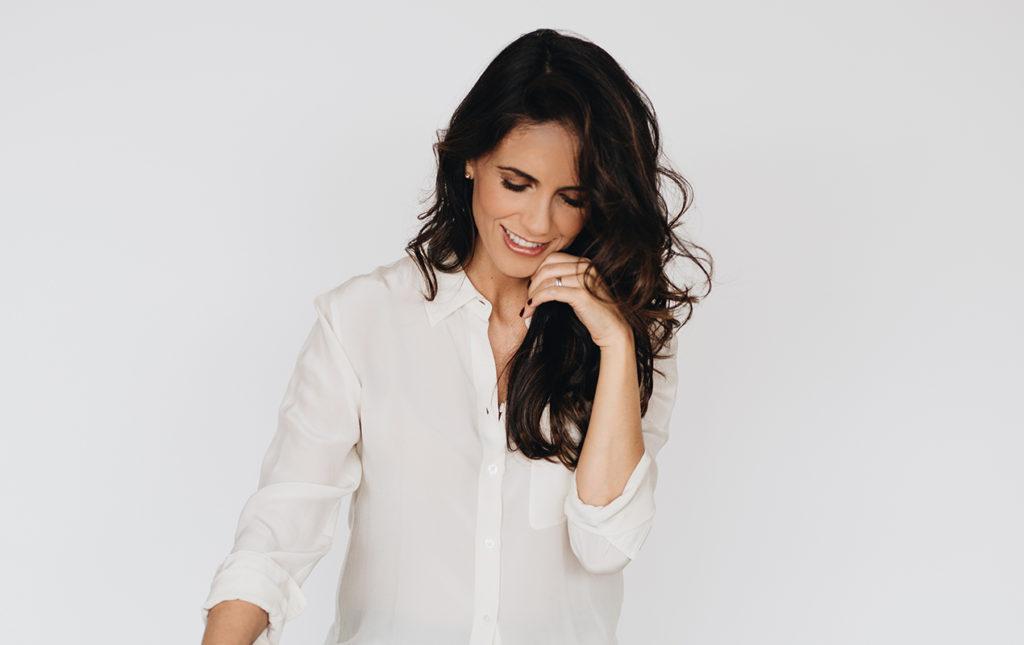 Marcela Cadena y su pasión por el azul