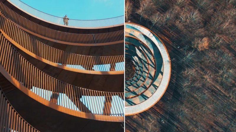 El nuevo deck de observación en Dinamarca que impacta por su arquitectura - deck-de-observacion-dinamarca-2
