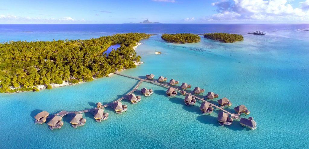 Los mejores resorts con bungalós sobre el agua