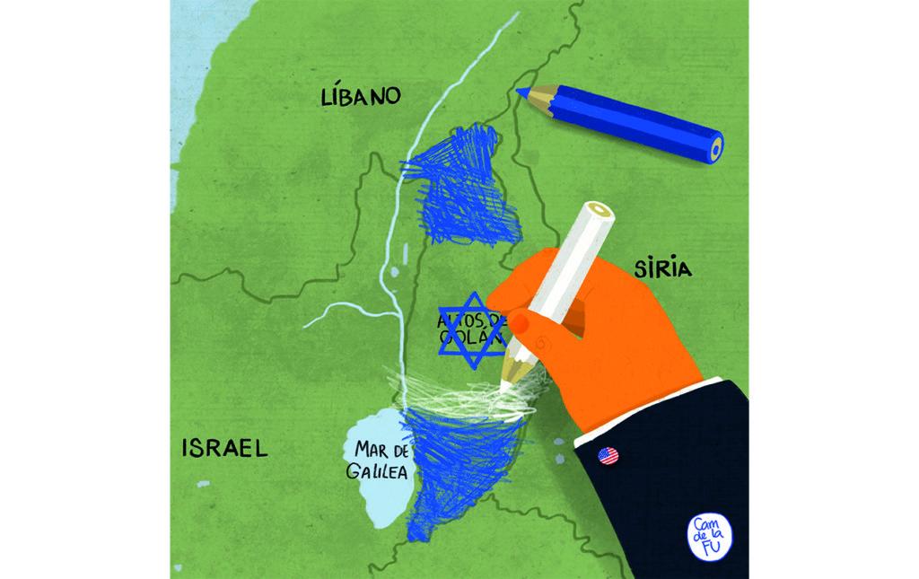 Problemas en las alturas: Altos del Golán