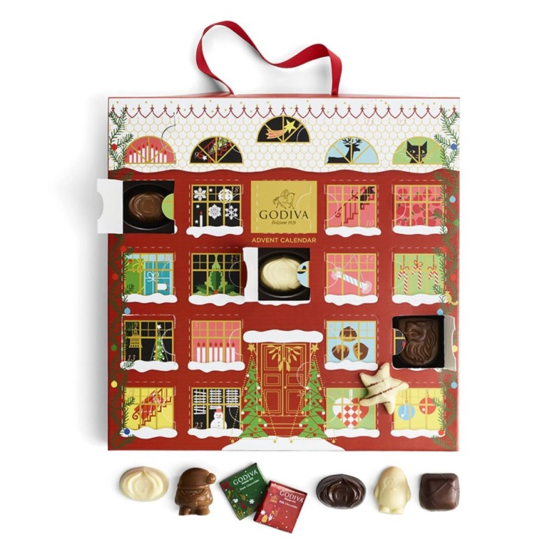 Los mejores advent calendars para recibir la Navidad - godiva