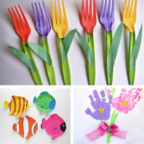 7 divertidas manualidades que puedes hacer en casa para festejar el Día del Niño