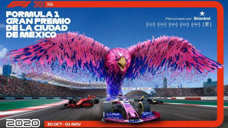 Fórmula 1: el Gran Premio de México se pospone para el 2021