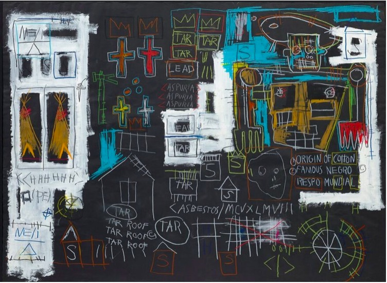 Obra de Basquiat alcanza 10.8 millones en una aplicación de smartphone