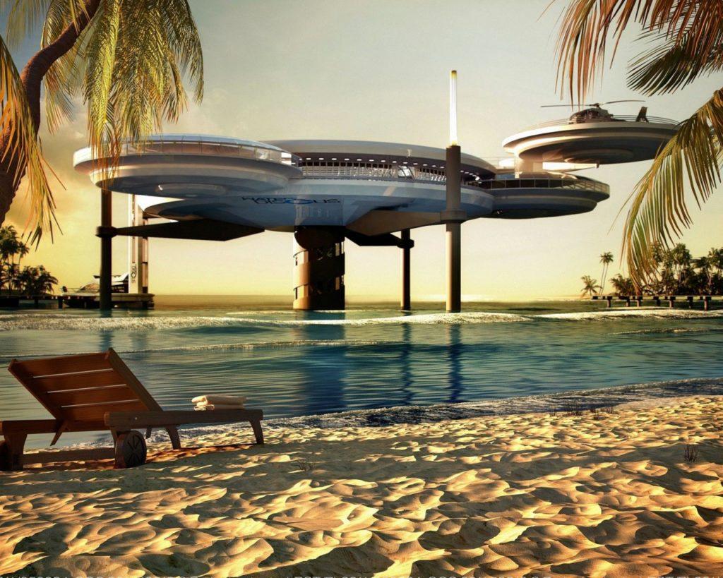 Diseños arquitectónicos bajo el agua que no puedes dejar de conocer