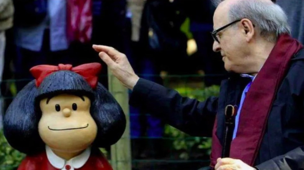 Murió Quino, creador de Mafalda