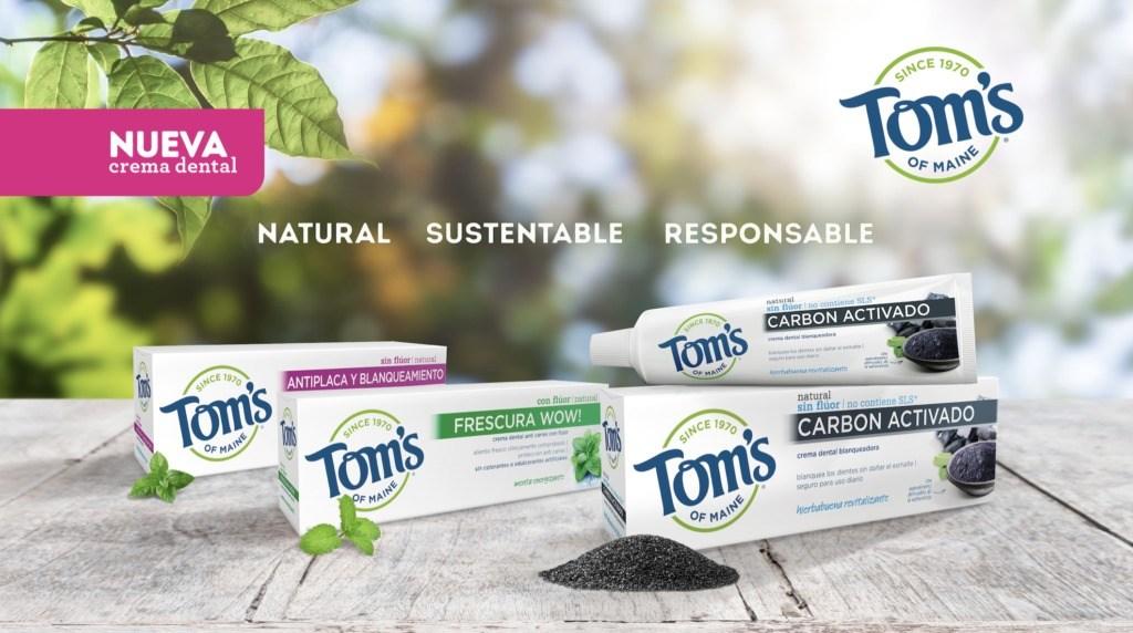 Conoce las presentaciones y los beneficios de la pasta de dientes natural de Tom's of Maine