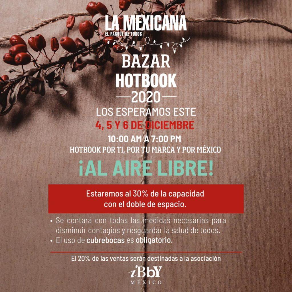 Llega la tercera edición de Bazar HOTBOOK al Parque La Mexicana ¡al aire libre! Por el comercio local y por México
