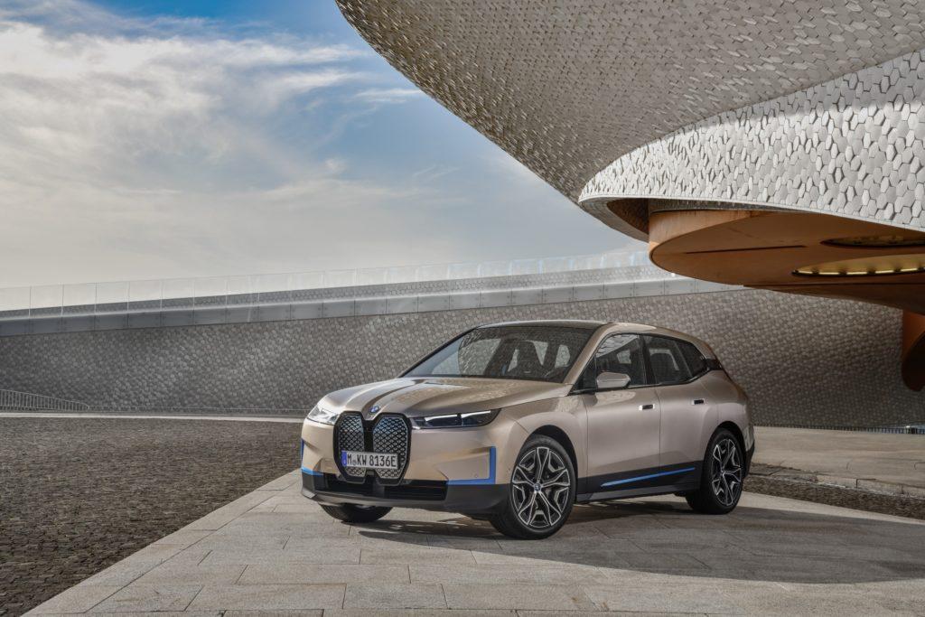 Conoce el nuevo BMW iX, un SAV completamente eléctrico