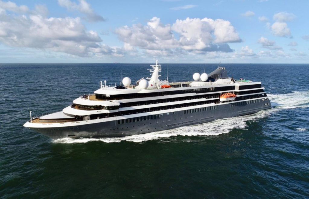 Conoce World Navigator, el nuevo crucero boutique de Atlas Voyages