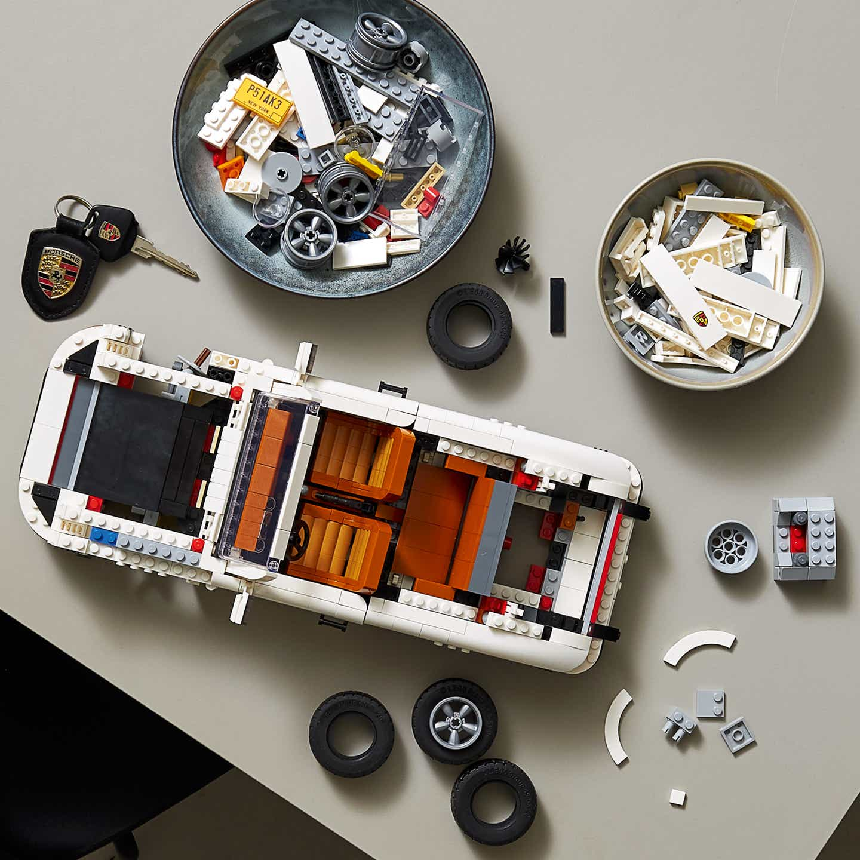 El icónico 911 de Porsche, ahora en versión armable de LEGO
