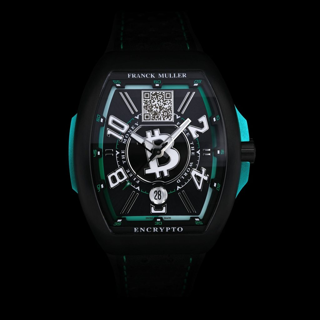 Conoce el nuevo Frank Muller Encrypto, un reloj que va más allá de la hora