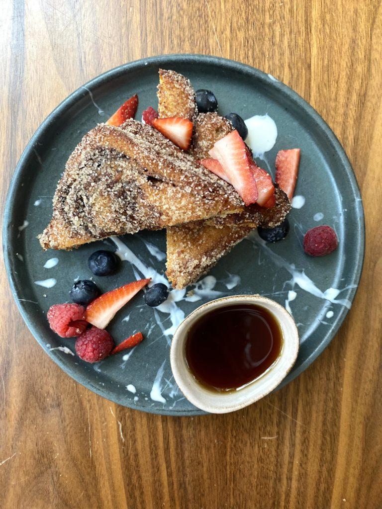 El paso a paso del platillo imperdible de Shuf: babka french toast