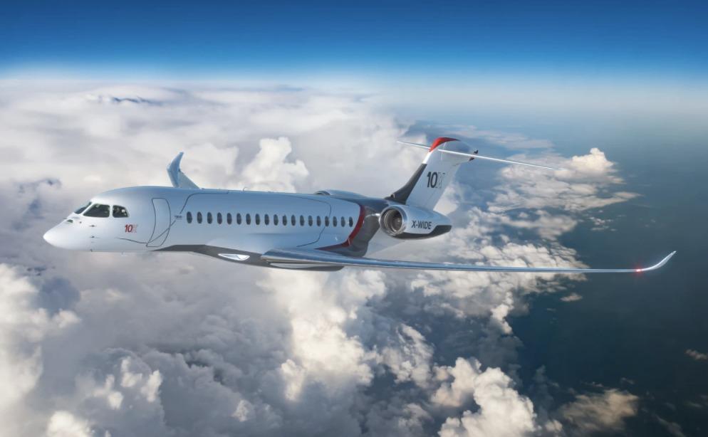 Conoce el Falcon 10X, la nueva joya de la corona de Dassault