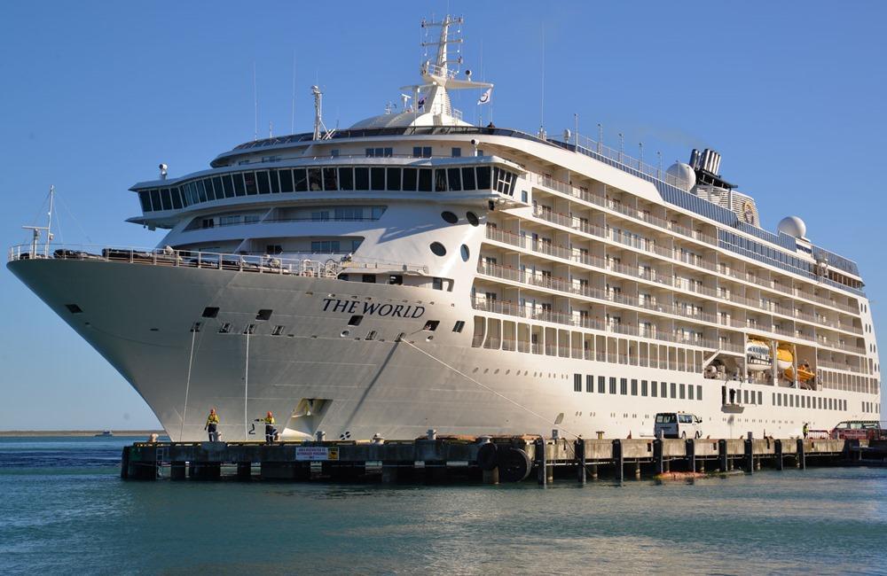 The World, el crucero residencial, reanudará sus planes de navegación este verano