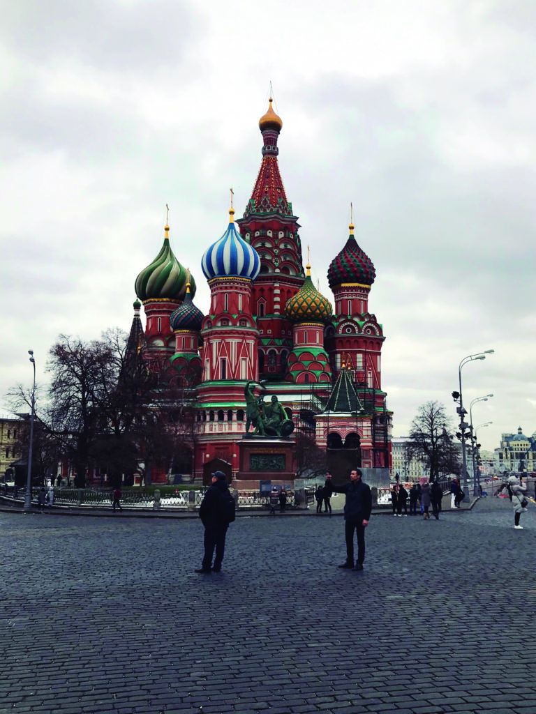 Moscú, entre la nostalgia y el presente