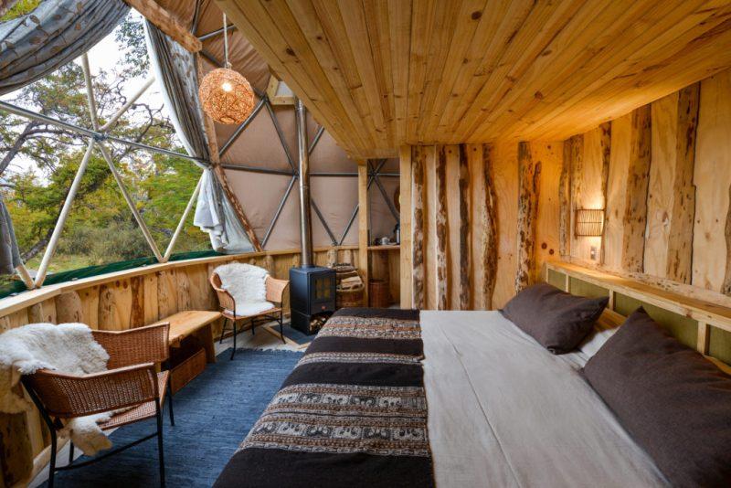 Patagonia, La naturaleza en estado puro - suite-dome-loft-interior