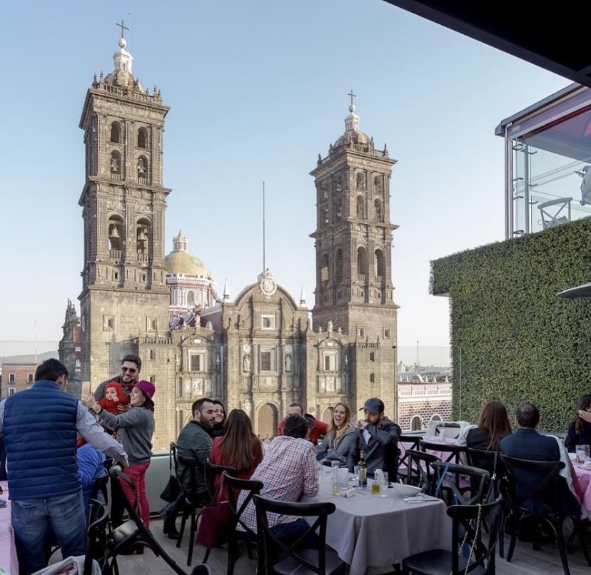 Los mejores spots para pasar un fin de semana en Puebla - terraza-attico-303