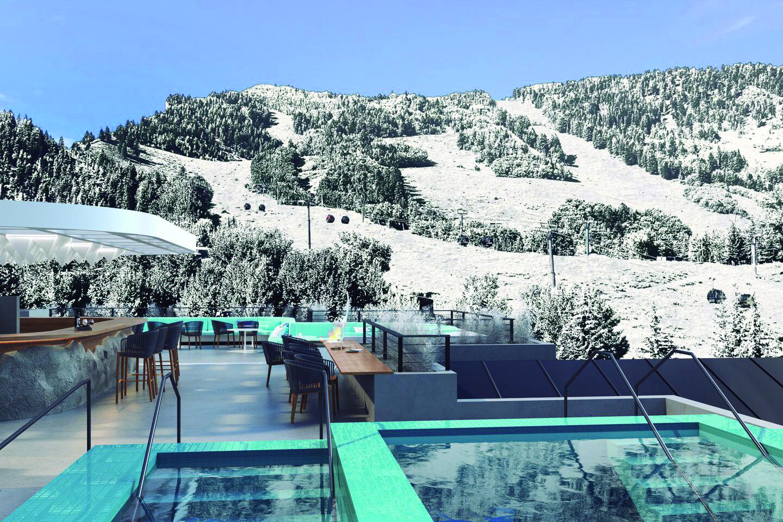 Hotel W Aspen, un escape en la montaña