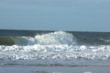 Wellen vor Westerland