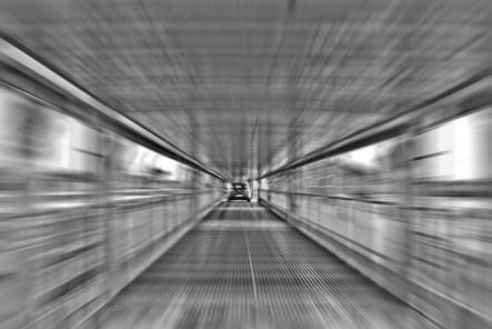 Auffahrt auf den Autozug