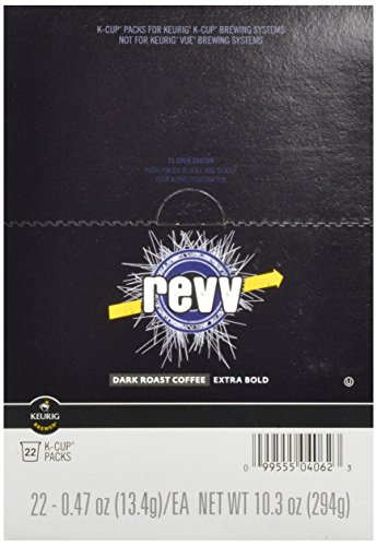 Green Mountain Coffee Revv, K-Cup Portion Pack for Keurig Brewers 22-Count