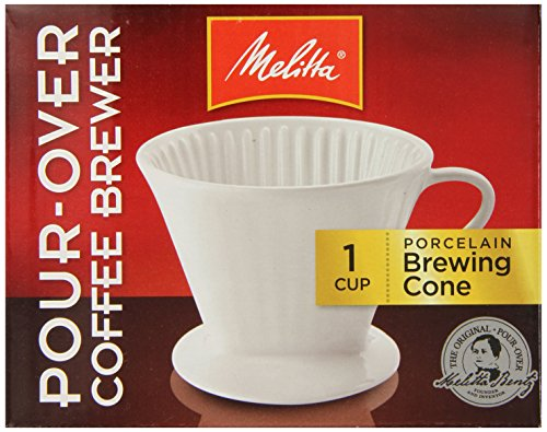 Porcelain 2 Cone Brewer Coffee Maker