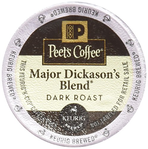 32 Count – Peet's Coffee Major Dickason Blend Single Cup Coffee for Keurig K-Cup Brewers