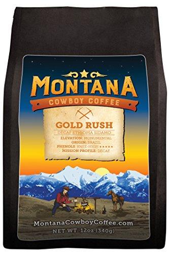Montana Cowboy Coffee – GOLD RUSH,Whole Bean 12oz