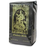 Valhalla Java Whole Bean Coffee by Death Wish Coffee Company, Fair Trade and USDA Certified Organic – 12 Ounce Bag