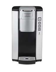 Cuisinart SS-5 Cuisinart Single Serve Brewer, Brushed Metal