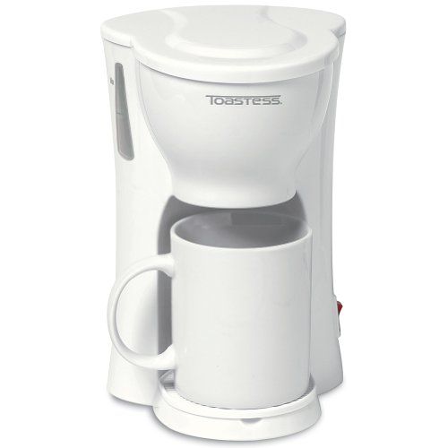 One Cup Space Saving Coffee Maker – Personal Compact Brewer With A Cup