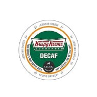 Krispy Kreme Doughnuts Decaf K-Cup Portion Pack for Keurig Brewers, 24 Count