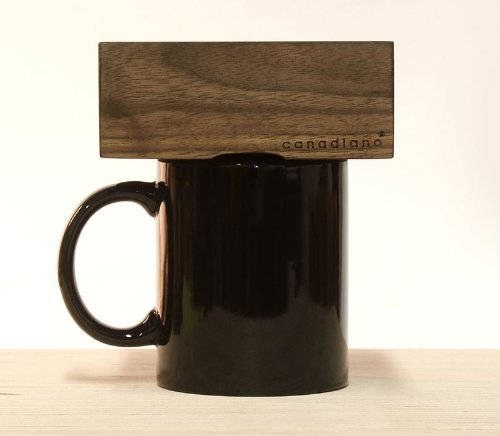 Canadiano Premium Pour-Over Coffee Maker – Crafted Coffee; Personalized – Walnut Edition