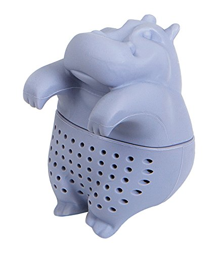 GAMAGO LA1500 Hippo Tea Steeper, Purple