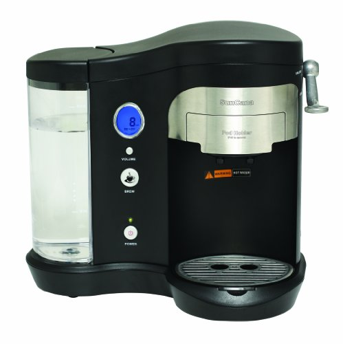 Suncana H701A-BLK Pod Brewer, Black