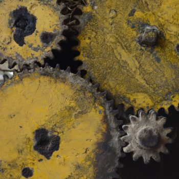 Cogs on farm machinery