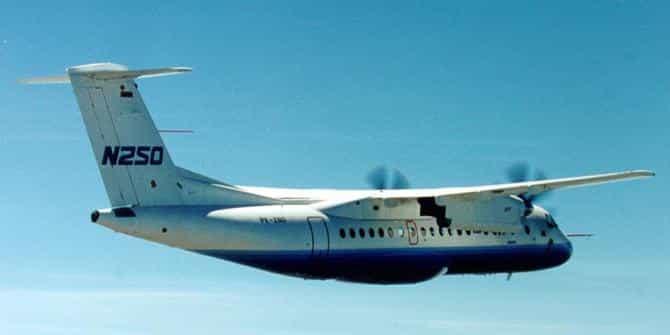 Pesawat N-250 Karya BJ HABIBIE