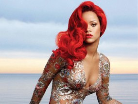 rihanna-bright-red-hairstyle-for-vogue-magazine