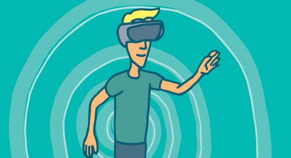 virtual reality headset example