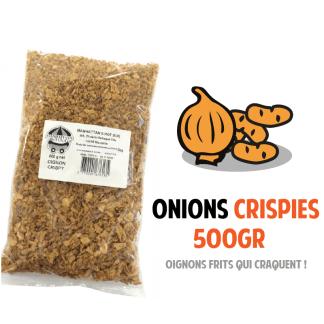 Onions Crispies Manhattan Hot Dog Sachet 500gr Oignons frits