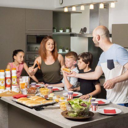 Repas en Famille Hot Dog Party Pack Starter